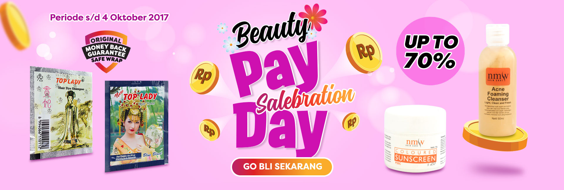 Beauty payday saletember