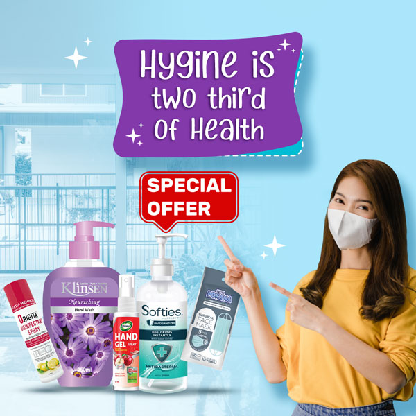 Hygine is Two Third of Health