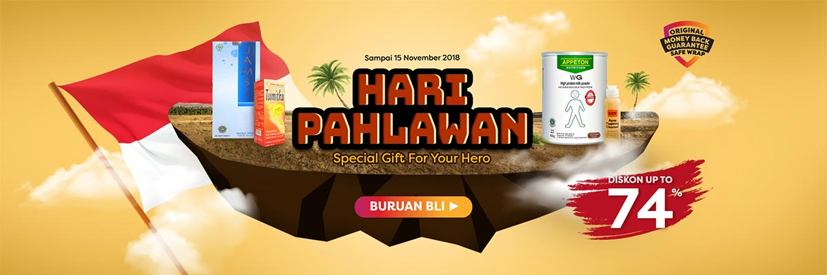 hari pahlawan special gift for your hero