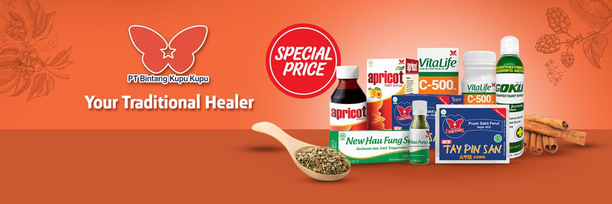 Bintang Kupu - Kupu Your Traditional Healer