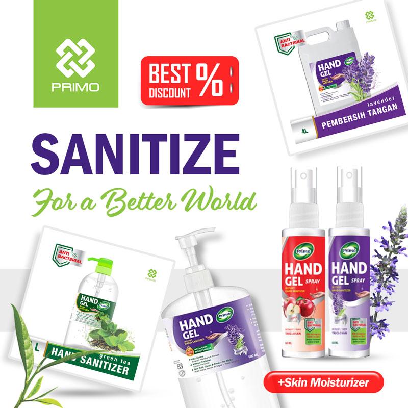 Hand sanitizer primo