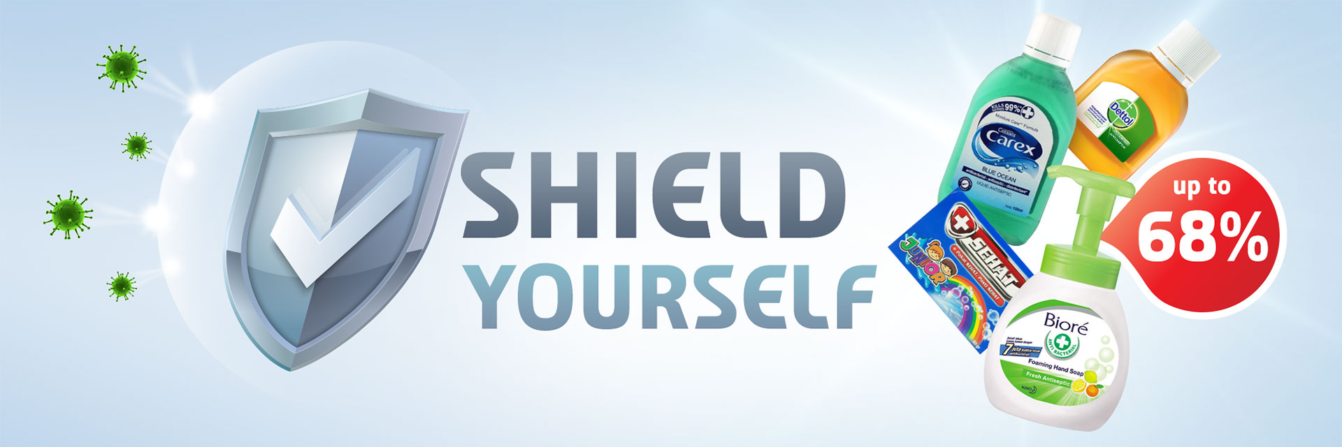shield yourself