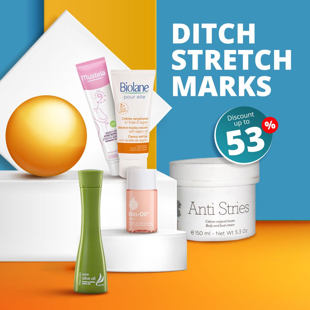Ditch The Strech mark