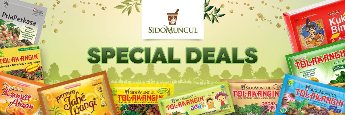 Sidomuncul Special Deals