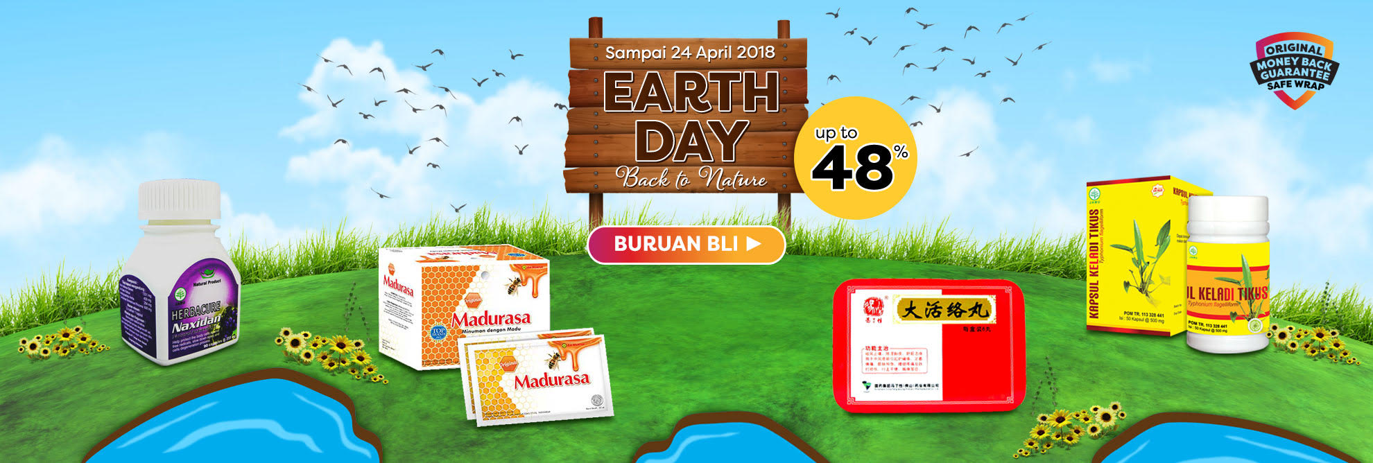Promo Earth Day 2018