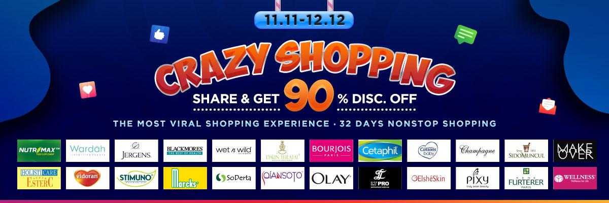 Harbolnas Crazy Shopping