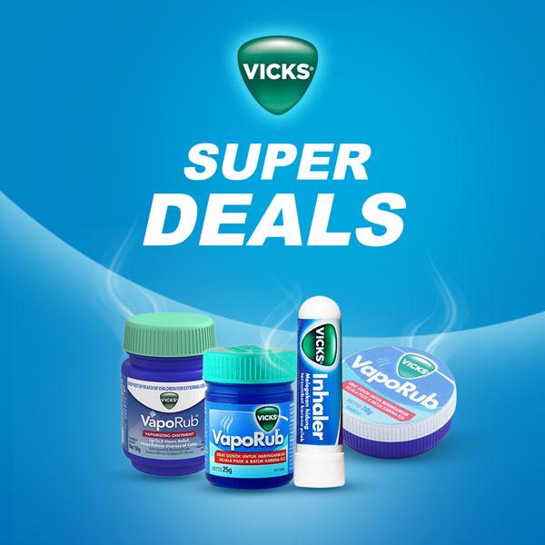 Vicks Super Deals