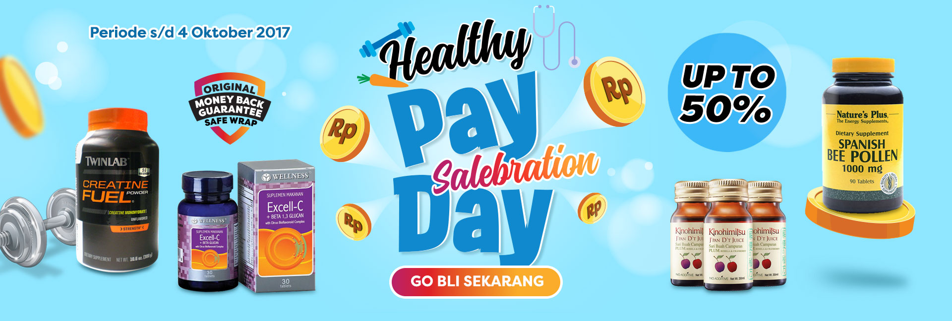 Healthypay day salebration