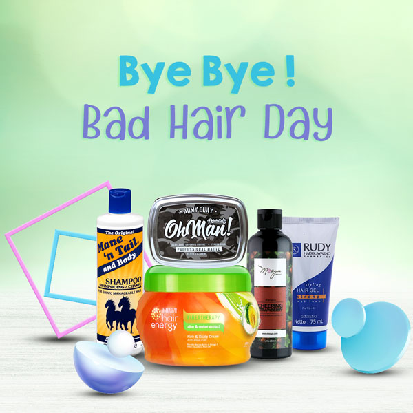 Bye Bye Bad Hair Day!