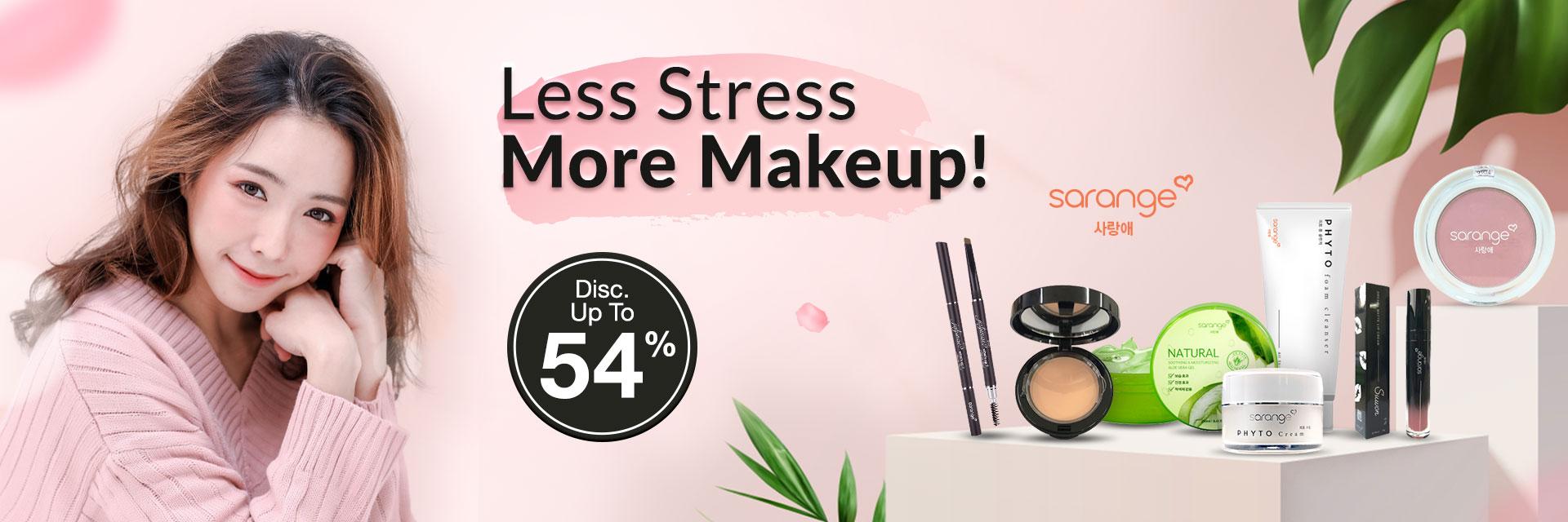 Less Stress More Makeup