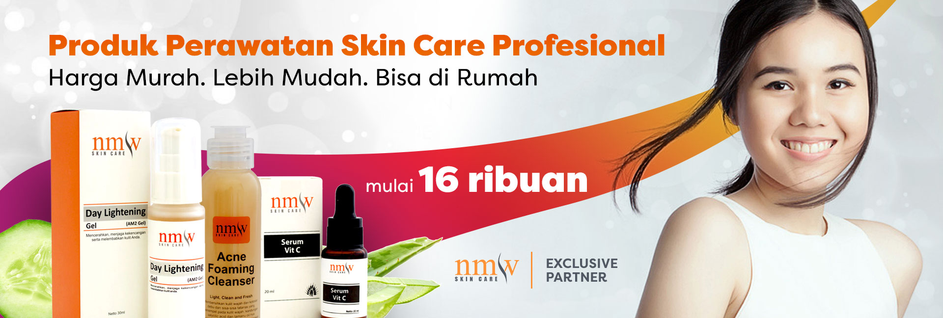 NMW Skin Care Exclusive Partner