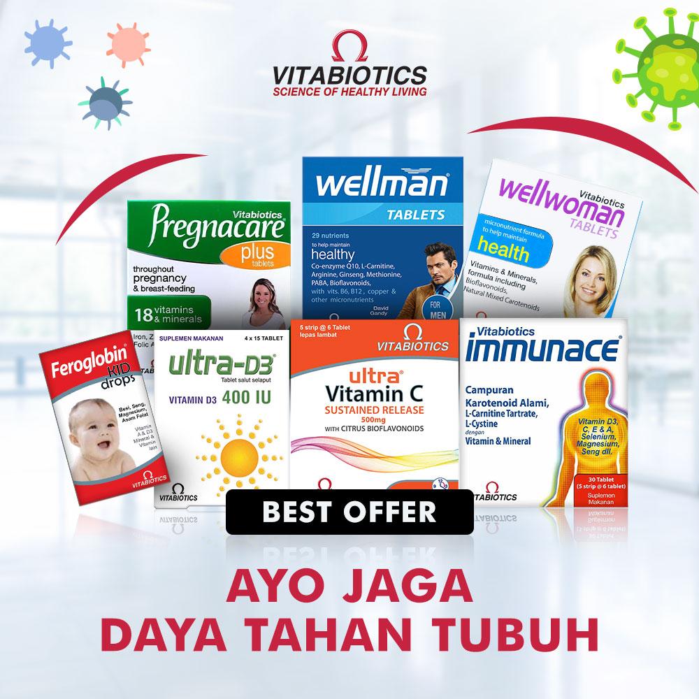 Suplemen Vitabiotics