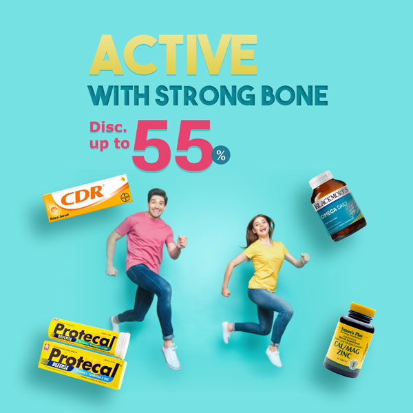 Active, With  Strong Bone