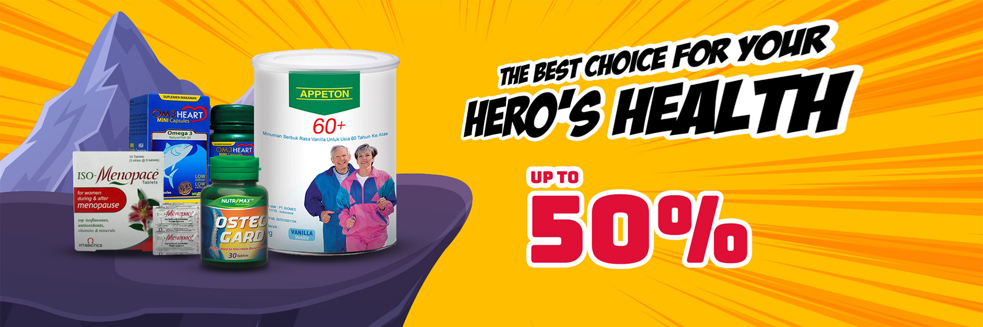 Best  For Your Healthier Heroes