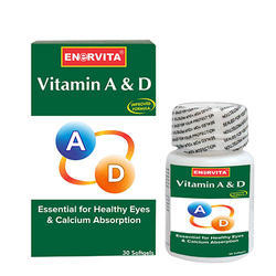 Enervita Vitamin A &Amp; D 30 Softgels