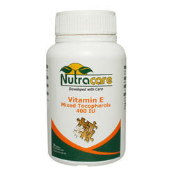 Nutracare Vitamin E Mixed Tocopherol