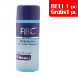 ABC Nail Polish Remover 60ml (BELI 1pc GRATIS 1pc)