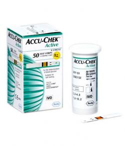 Accu Chek Active Test Strips 50 Strips