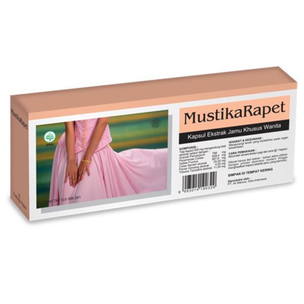 Air Mancur Mustika Rapet Kapsul 4 Box Gogobli