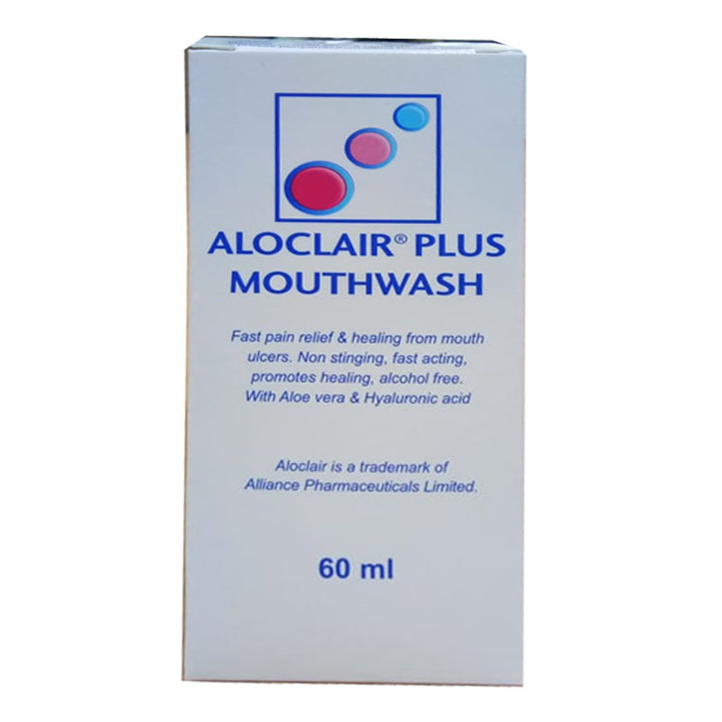 Aloclair PLUS Mouthwash 60ml | Gogobli