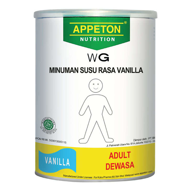 Appeton Weight Gain Adult Vanilla 900 Gr