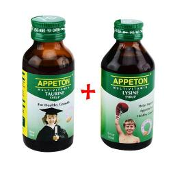Appeton Lysine Syrup 60 ml + Appeton Taurine Syrup 60ml