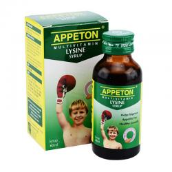 Appeton Lysine Syrup 60ml (ED: Mar 21) (BUY 1 GET 1)