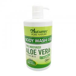 Autumn Moisture Aloe Vera Body Wash Gel 1000ml