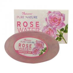 Autumn Pure Nature Rose Water Moisture Transparant Soap 80gr