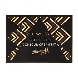 Barry M Flawless Chisel Cheeks Contour Cream Kit 7.5gr