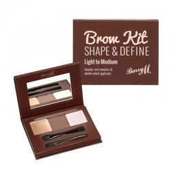Barry M Brow Kit Shape and Define Light To Medium 4.5gr