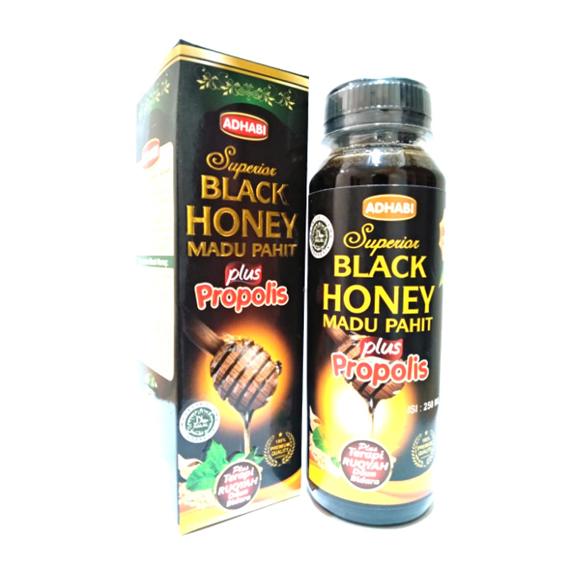 Bee Kahfi Adhabi Madu Pahit Black Honey 250ml | Gogobli