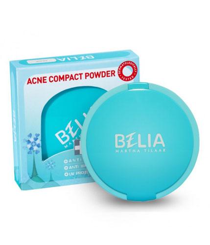 Belia Acne Compact Powder Beige Gogobli