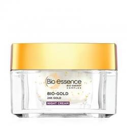 Bio Essence Bio-Gold Night Cream 40gr