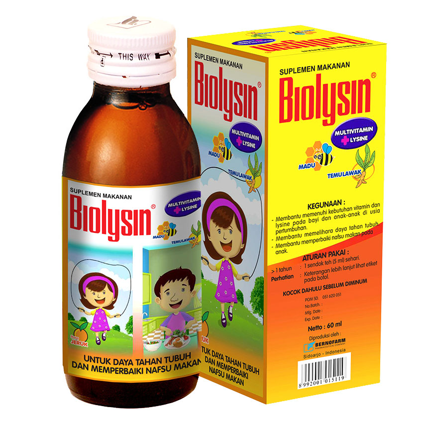 Biolysin Syrup 60ml | gogobli