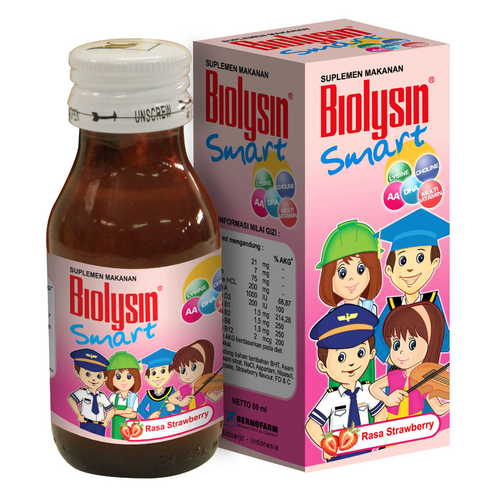 Biolysin Smart Strawberry 100gr | Gogobli