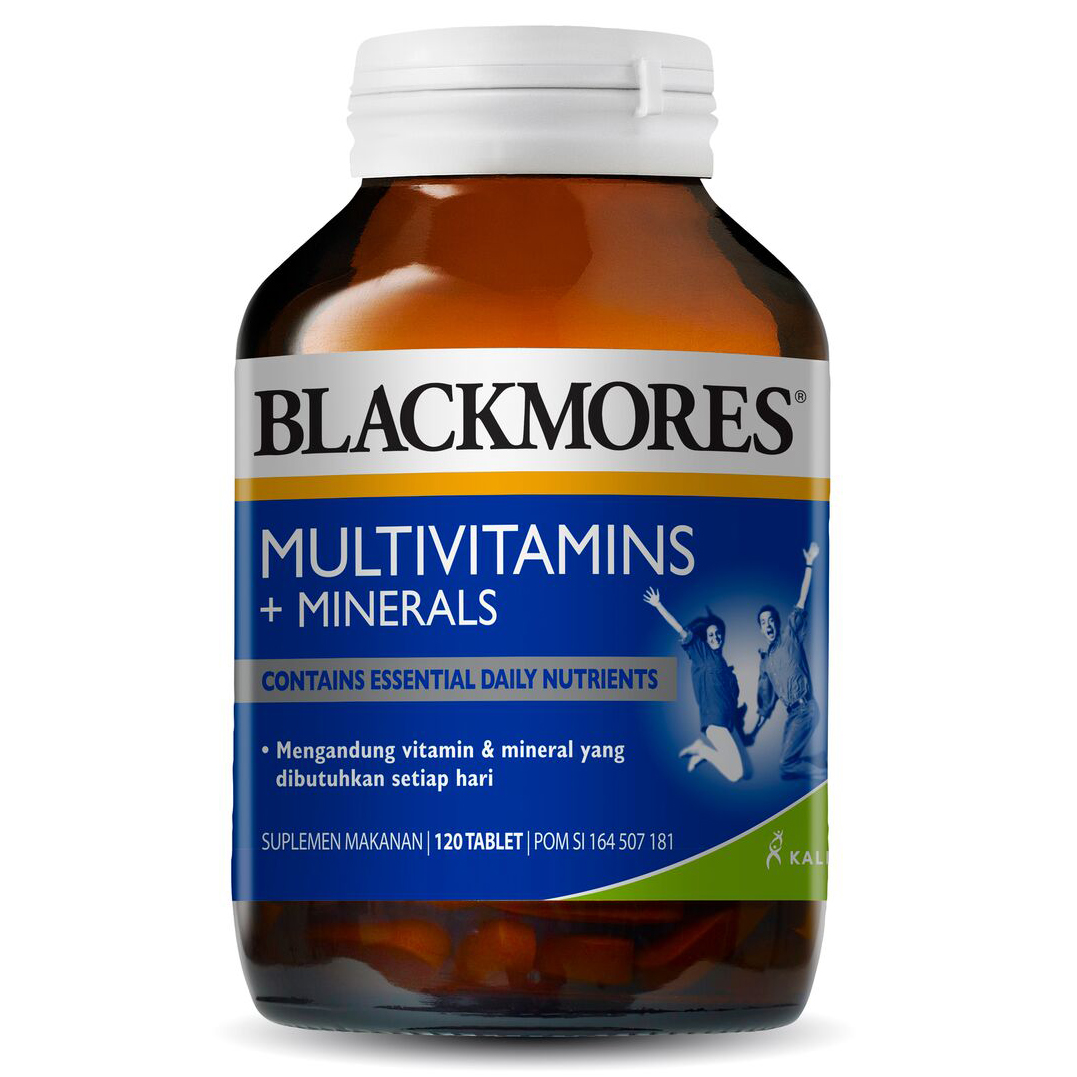 Blackmores Multivitamins And Minerals 120 Tablet | Gogobli