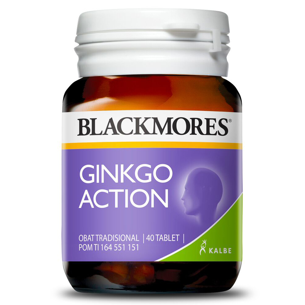 Blackmores Ginkgo Action 40 Tablet | Gogobli