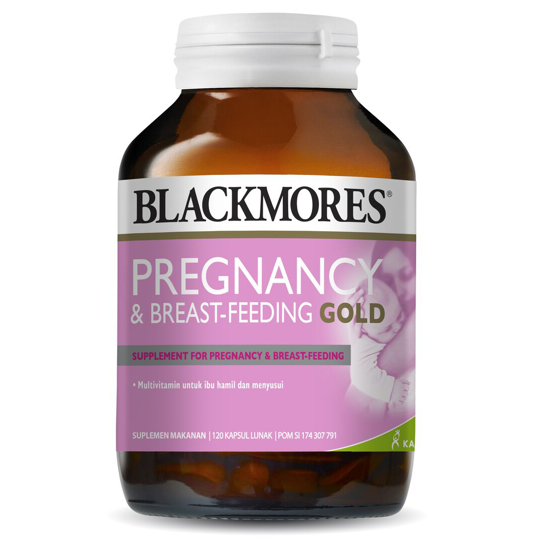 Blackmores Pregnancy And Breast Feeding Gold 120 Tablet | Gogobli