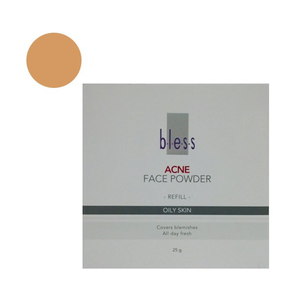 Bless Refill Acne Face Powder Beige 25 Gr
