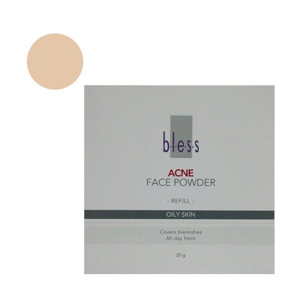 Bless Refill Acne Face Powder Ivory 25 Gr