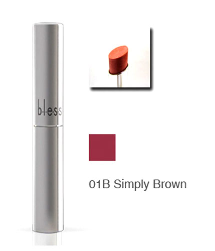 Bless Care Lipstick Simply Brown 2 Gr