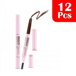 Brasov Eyebrow Pencil Auto Brown 0.3 (12 Pcs)