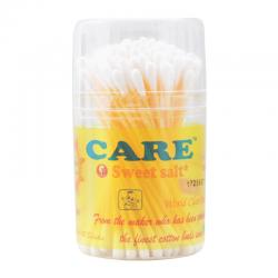 Care Sweetsalt Extra Fine Cotton Buds For Baby Pot 100s