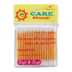 Care Sweetsalt Regular Cotton Buds Pack 50s