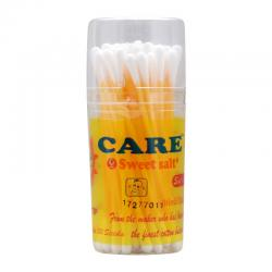 Care Sweetsalt Extra Fine Cotton Buds For Baby Pot 50s
