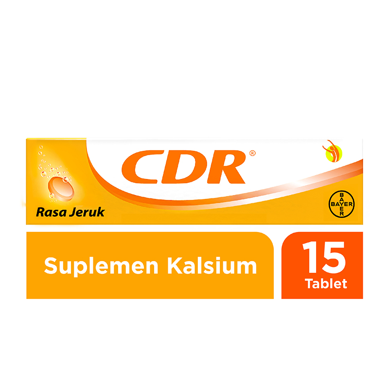 CDR Sweet Orange Effervescent 15 Tab | Gogobli