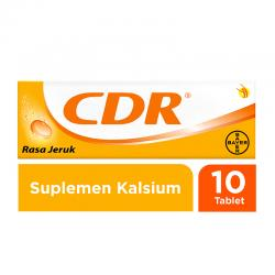 CDR Sweet Orange Effervescent (1 botol @ 10 tablet)