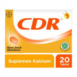 CDR Sweet Orange Effervescent 20 tab
