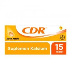 CDR Sweet Orange Effervescent 15 tab